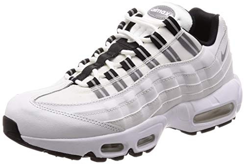 Donna Bianco Max Nike Sneakers Pelle Air 95 fxvwdaqw