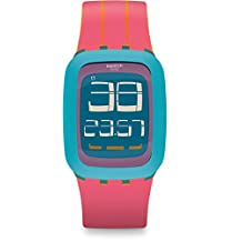 Swatch Women's Swatch Touch SURS103 Multi Rubber Automatic Sport Watch