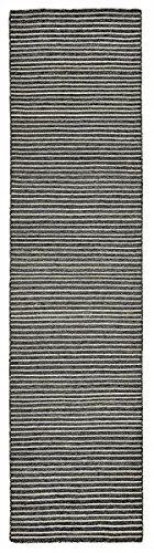 6203/48 PENCIL STRIPE CHARCOAL -