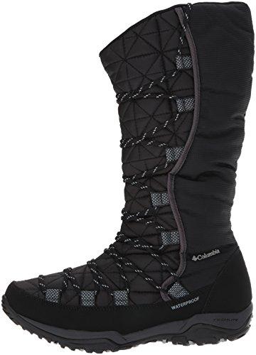 Columbia Women's Loveland Omni-Heat Snow Boot, Black, Earl Grey, 8.5 B US by Columbia (Image #5)