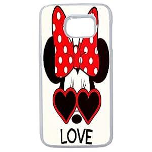 Lapinette COQUE-S7-EDGE-MINNIE-LOVE - Funda carcasa para Samsung Galaxy S7 Edge diseño Disney Minnie Love