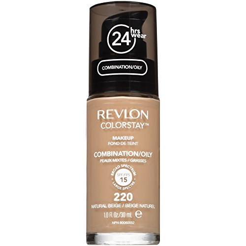 Revlon ColorStay Liquid Makeup for Combination/Oily, Natural Beige