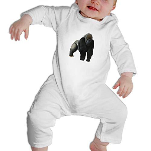 Infant Baby Gorilla Long Sleeve Romper