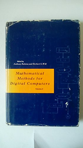 Mathematical Methods for Digital Computers (v. 2)