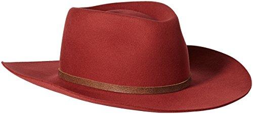 Bailey Western Men's Sheik, Rustic Red, 7 5/8