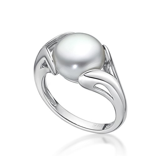 Sterling Silver Freshwater Pearl 10 5 11mm
