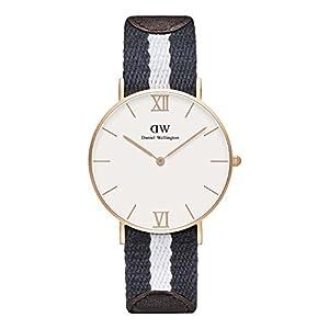 Daniel Wellington 0552DW - Reloj de Cuarzo para Mujer, con Correa de Tela, Color Multicolor 8