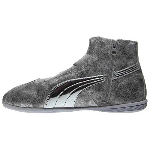 Eskiva B Da Silver m Donna Mid 9 Metallic Sneaker wOEH0qcq