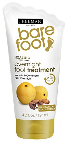 (Freeman Bare Foot Overnight Foot Treatment 4.2 Ounce (124ml))