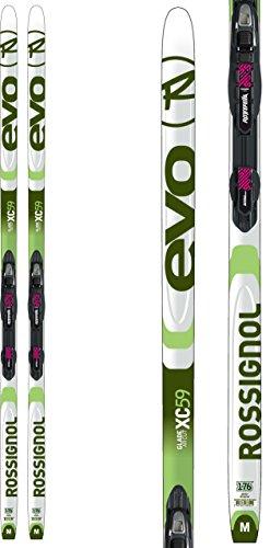 Rossignol Evo XC 59 XC Skis w/ Touring Auto Combi Bindings Mens Sz 196cm