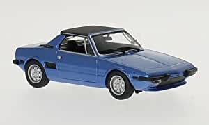 Amazon.com: Fiat X1/9, blue/black, 1974, Model Car, Ready