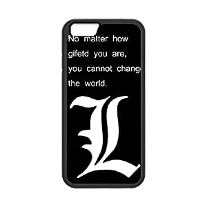 iPhone 6 4.7 Inch Cell Phone Case Black Death Note 001 Delicate gift AVS_705893