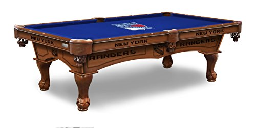 (Holland Bar Stool Co. New York Rangers 8' Logo Pool Table)