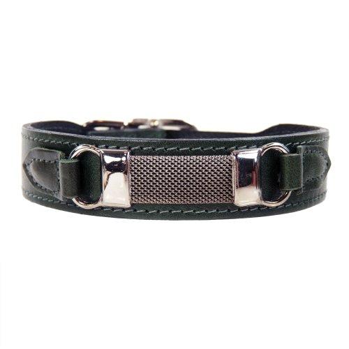 hartman-rose-3473-barclay-dog-collar-20-to-22-inch-ivy-green