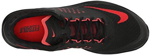 Nike FS LITE RUN 2 Zapatillas para Correr Running Negro Rojo para Hombre