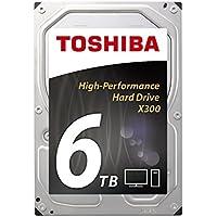 Toshiba X300 - Harddisk - 6 TB - intern - 3.5 - SATA 6Gb/s - 7200 rpm - buffer: 128 MB