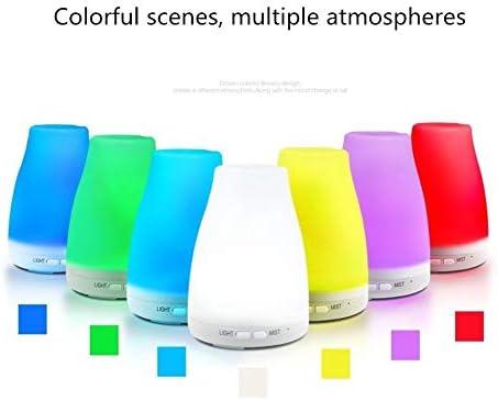 HXMSXROMID Lámpara De Noche LED De Luz De Colores Humidificador ...