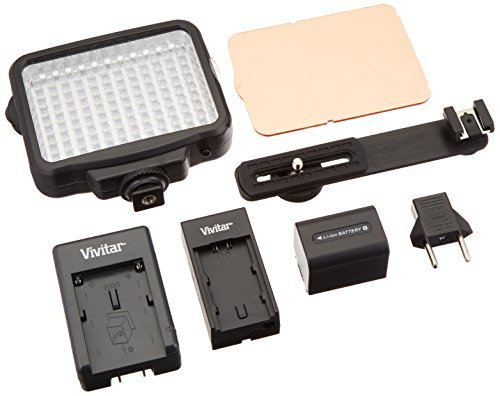 Vivitar 120 Led Light Panel 4 Camera and Camcorder