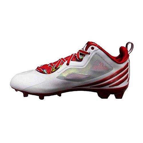 Adidas Mens Rgiii Voetbalcleat (13,5, Niet Actief / Loopt Wit / Loopt Wit)