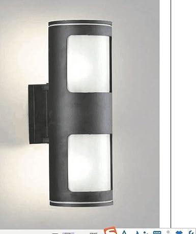 y de lámpara LED Lámpara exterior luces pared de pared BOOTU WIYD2eEH9