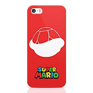 Loud Universe Super MArio Turtle iPhone 5 / 5s Case Red Mario Logo iPhone 5 / 5s Cover with 3d Wrap around Edges
