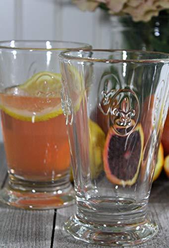 La Rochere Set Of 6, 10-ounce Fleur De Lys Double Old Fashioned Glasses by La Rochere (Image #1)