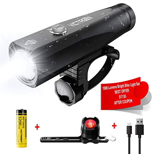 Victagen Rechargeable Waterproof Free Flashlight product image