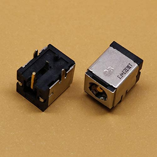 Occus 1 Piece 5.52.5mm 4Pin New Power DC in Jack,DC Power Jack Connector for Fujitsu Lenovo Asus MSI,DC-082 Cable Length: Other