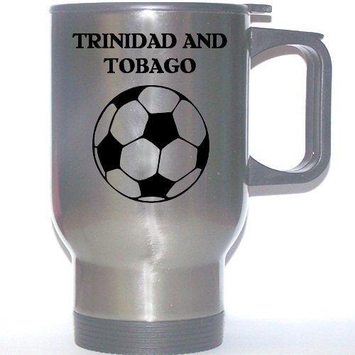 Soccer Stainless Steel Mug - Trinidad And Tobago