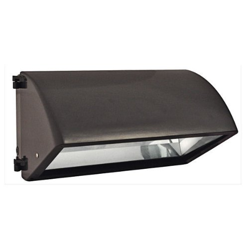 RAB Lighting WP3CH250PSQ WP3 Cutoff Metal Halide Wallpack, ED28 Type, Aluminum, 250W Power, 25000 Lumens, 277V, Bronze Color by RAB Lighting