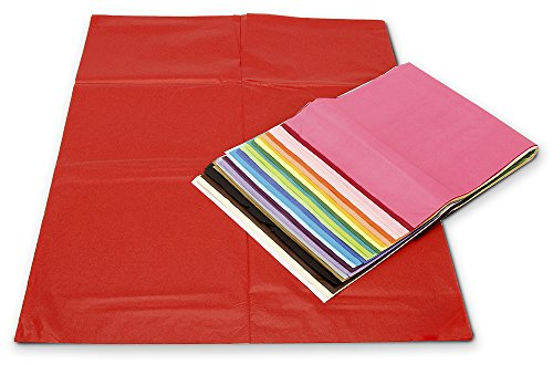 "41GQfie7RsL ArtVerse 100-Piece Tissue Paper Pack – Premium Quality Tissue Paper for Gift Wrapping, Paper Crafts, Packing and More, 20""x26"" (Assorted Colors)"