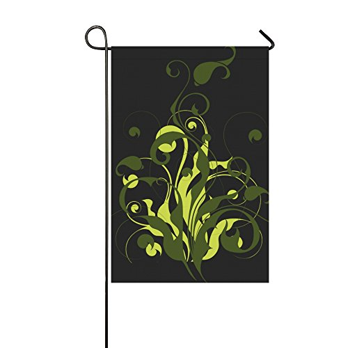 Home Decorative Outdoor Double Sided Flora Abstract Filigree