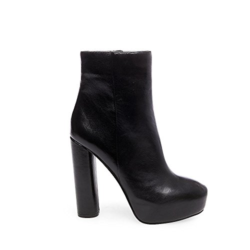 Boots Black Leather Adair Madden Womens Steve Ankle wpCRRB