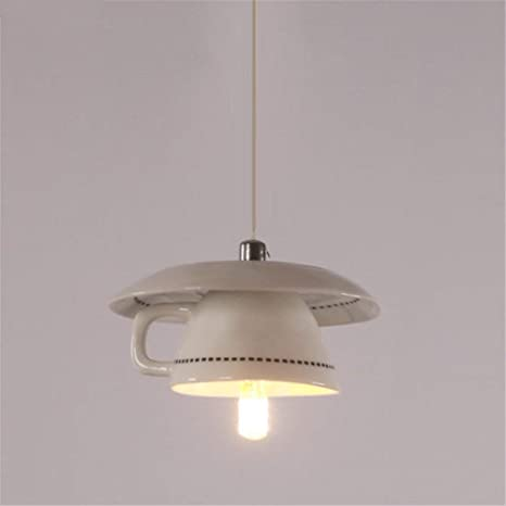 Tetera LED Lámpara plafón colgante Leuchten creativos Mode ...