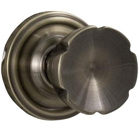 Brass Weslock 640E Eleganti Keyed Entry Door Knob
