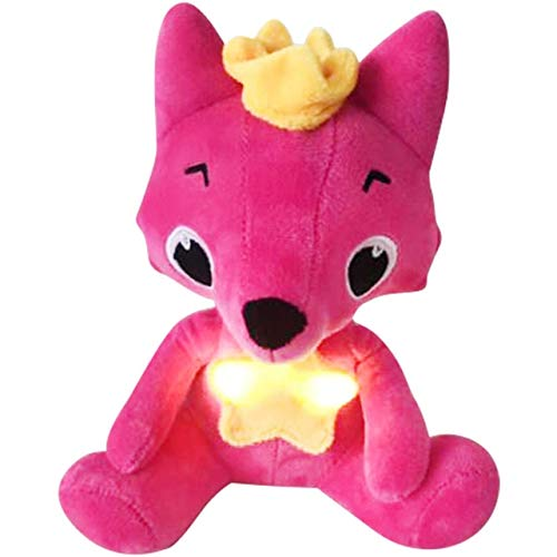 TRAFSK 20Cm Children's Educational Shark Plush Toy Pink Shark Fox Doll Singing with Music Doll Fong New Must Haves Unique Gifts The Favourite Comic Superhero Toys UNbox Game by TRAFSK