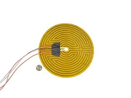 Amazon.com: 160 mm 12 V Ronda Kapton calentador y termistor ...