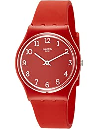 Originals Sunetty Red Dial Silicone Strap Unisex Watch GR175