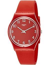 Swatch GR175 Sunetty Unisex Watch - Red