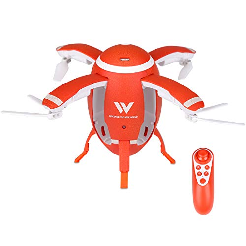 Mini RC Drone,Gravity Sensor Foldable Quadcopter with Headless Mode,Altitude Hold Function and Speed Adjustment,Remote Control Helicopter Toys for Kids & Beginners (Mini Drone-1)