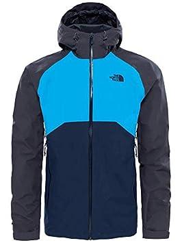 North Face M Stratos Jacket - Chaqueta, Hombre, L, Azul: Amazon.es: Deportes y aire libre