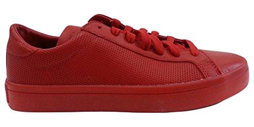 Adidas Mens Court Vantage Adicolor Shoes S80253 Scarlet Red Scarlet Red
