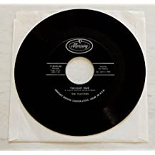 The Platters TWILIGHT TIME b/w OUT OF MY MIND - Mercury Records 1958 - Vinyl 7 Inch Single Record - MONO - Cool Rock & Roll / R&B single!