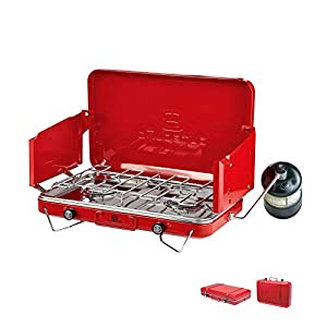 Outbound Gas Camping Stove | 2 Burner Propane Stove | 10,000 BTU's Per Burner
