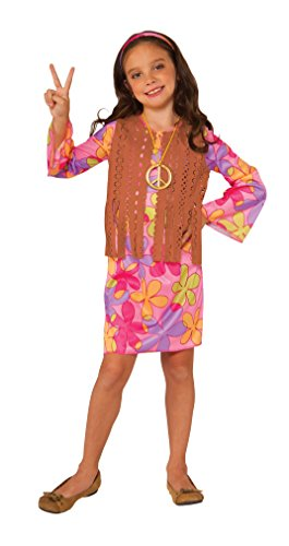 Rubie's Costume Sunshine Hippie Value Child Costume, Medium (Hippie Dress Up)