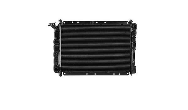 CPP ensamblaje de radiador frontal para Chrysler tóner, LeBaron, Dodge 400, 600, Aries, Daytona, LANCER, Plymouth, Caravelle, Reliant ch3010110: Amazon.es: ...
