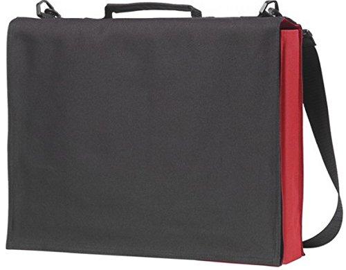 Notebook de Obra Messenger negocios para Bolsas de Negro Escuela la Laptop Rojo bolso profesional hacer El nuevo wfI1Sq