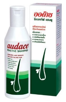 AUDACE Reactive shampoo Hair Loss Weak falling 200ml 2pack