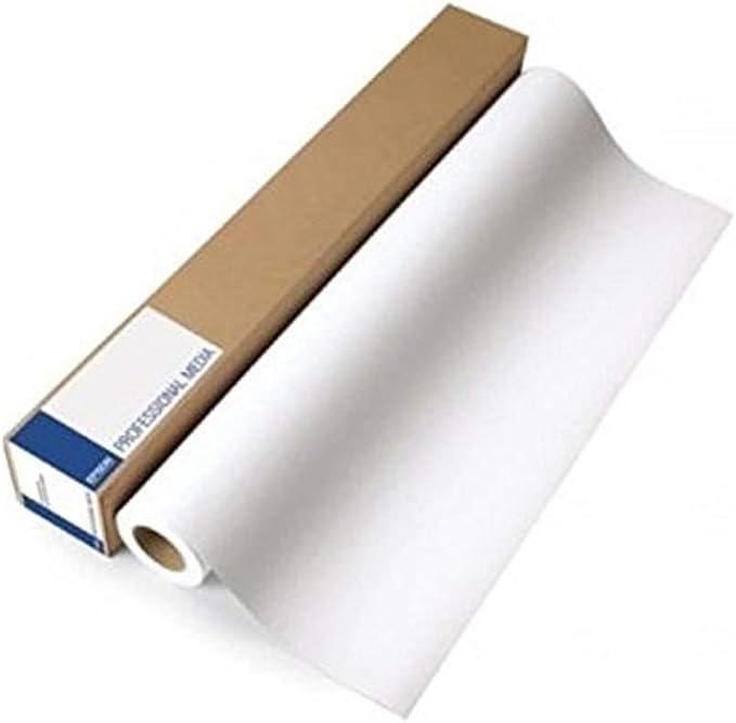 Epson C13S045273 - Papel gran formato 610 x 50 mm, 80gr, color blanco: Amazon.es: Oficina y papelería