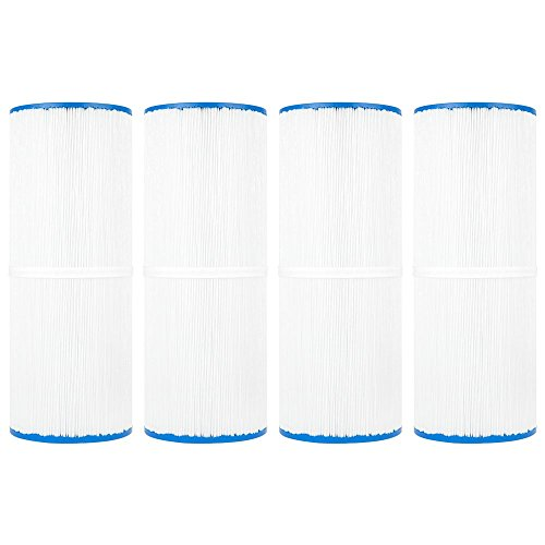 Clear Choice Pool Spa Filter 4.94 Dia x 13.31 in Cartridge Replacement for Rainbow 17-2380 Dynamic Series Aladdin 15002, [4-Pack] ()